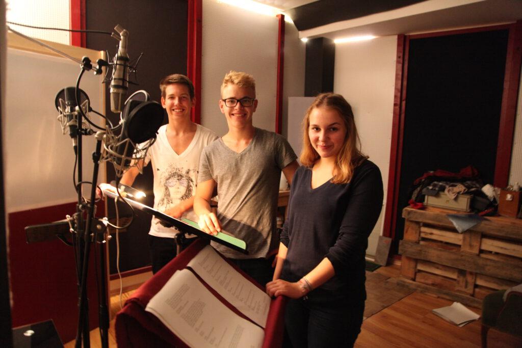 Maxi Belle, Malte Wetzel und Maresa Sedlmaier 2014